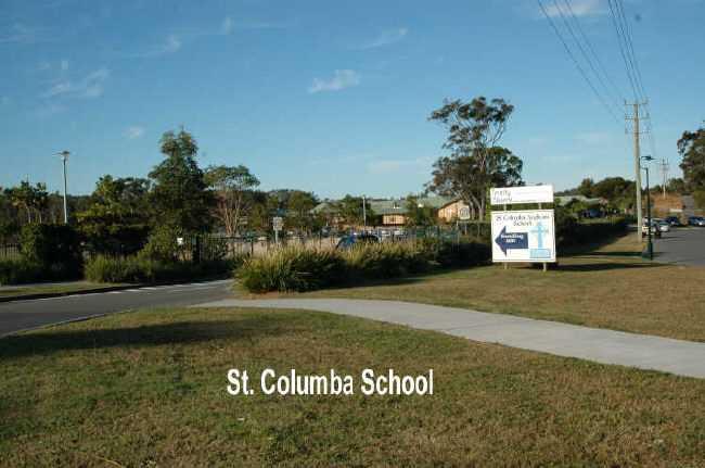 St Columbia School Near By