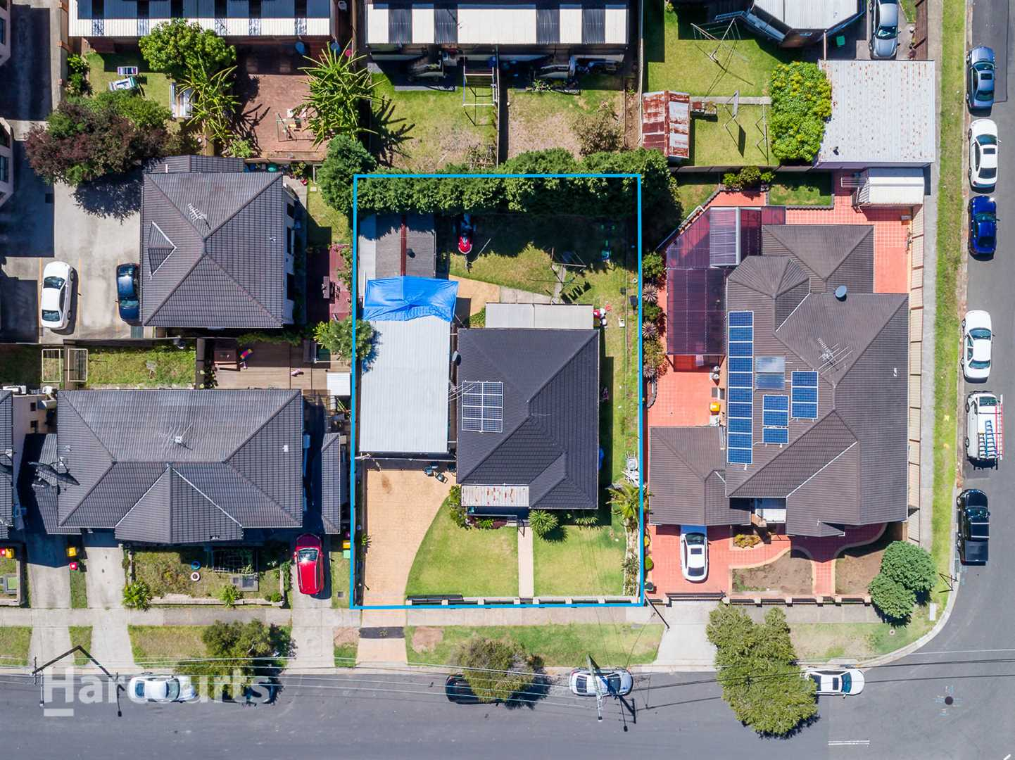 DA and CC approved duplex site ready to build