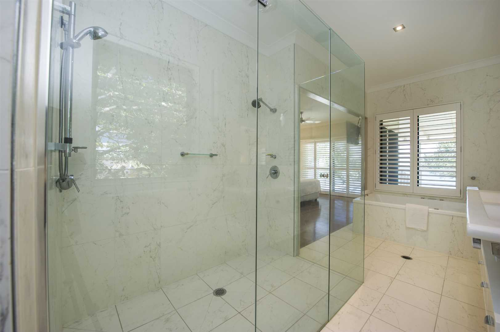 Double Shower in Master Ensuite