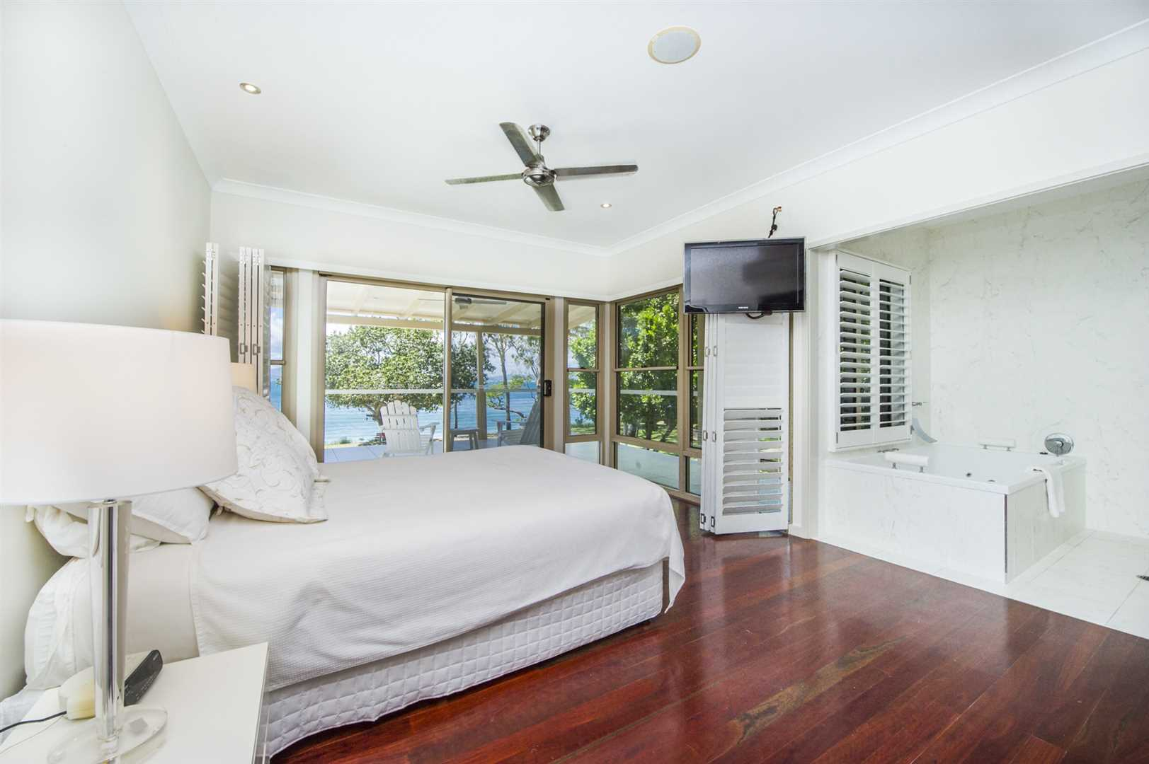 Master Bedroom to out side private Balcony.