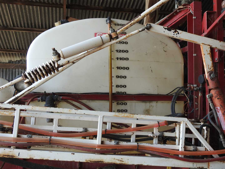 O/V  View of 1500l tank