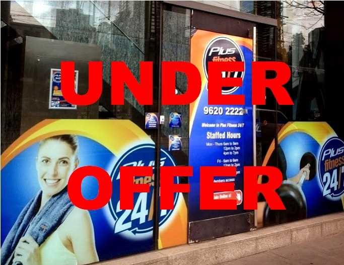 Business for Sale - Plus Fitness 24/7, Flinders Street, Melbourne