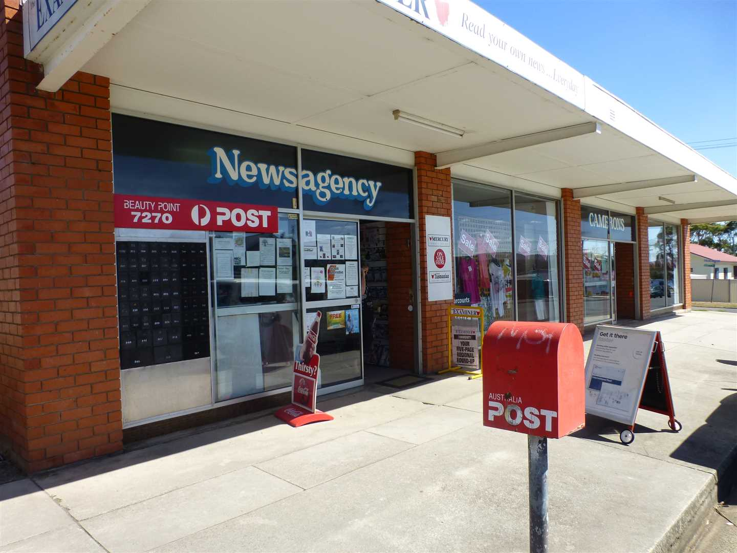Post Office, Newsagency and Clothing Store!