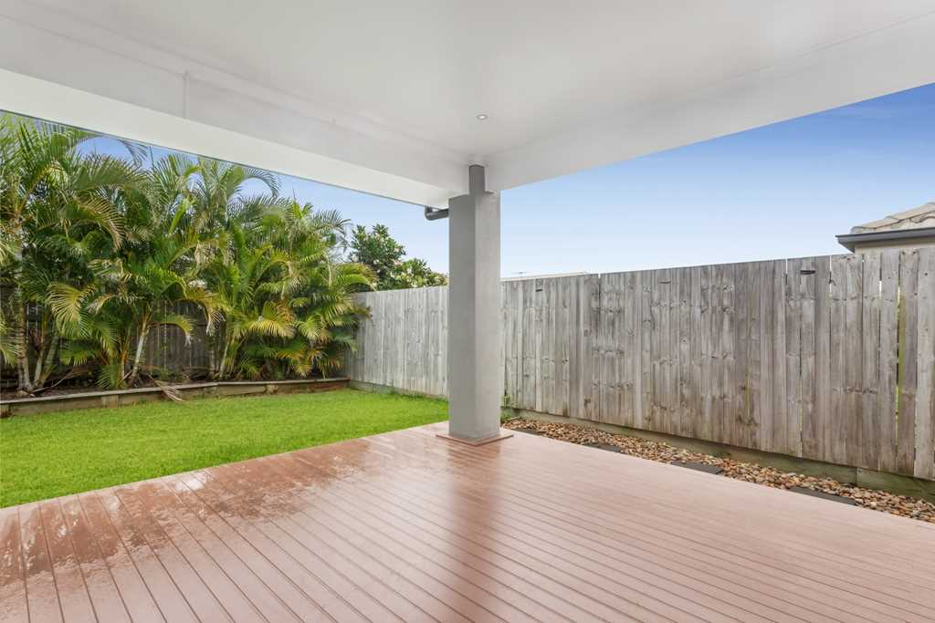 Rear Covered Patio Area