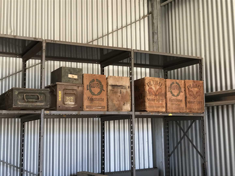 Wood Kerosene Boxes, Ammunition Boxes