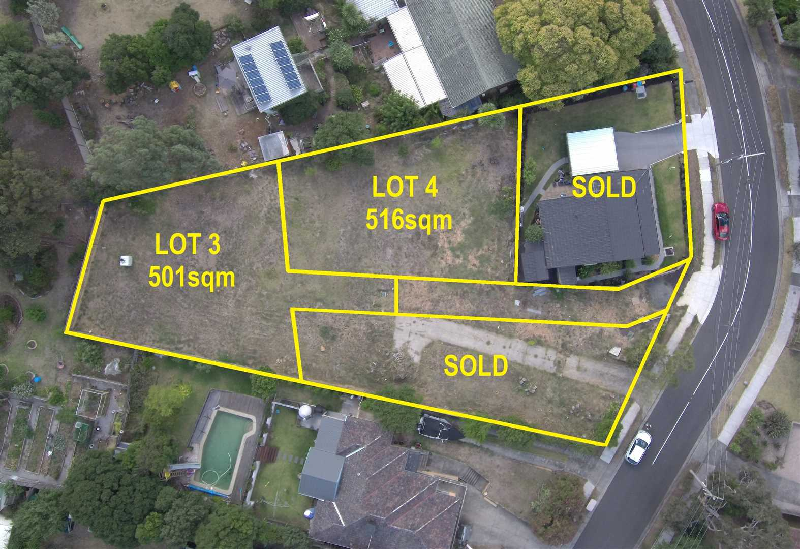 2 Vacant Blocks with Views