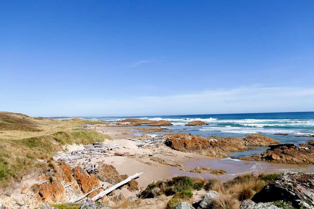 Beach - approx.11 min walk from property