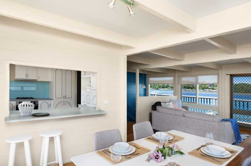 Open Plan Dining and Living