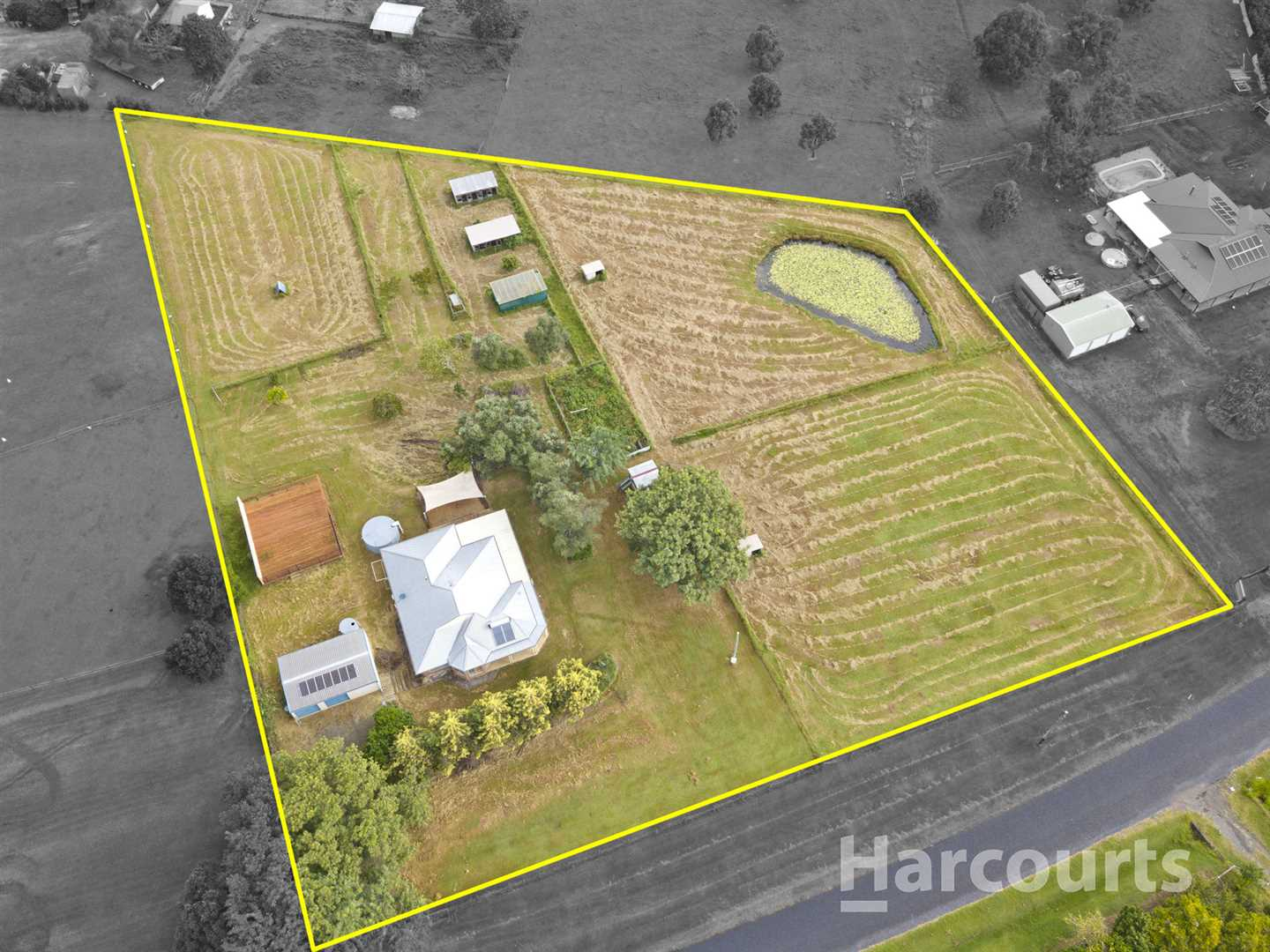 Acreage with the Lot!