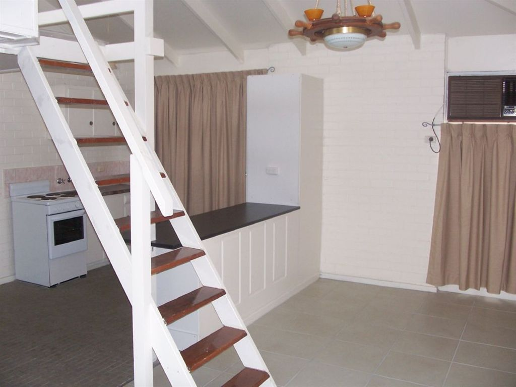 Kitchen/Dining stairs to small attic