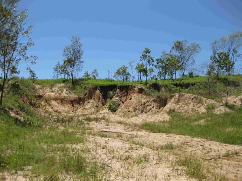 View of part of gravel pit on property (photo not recent)
