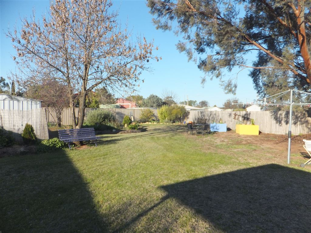 Extensive rear yard suitable for a family or retirees
