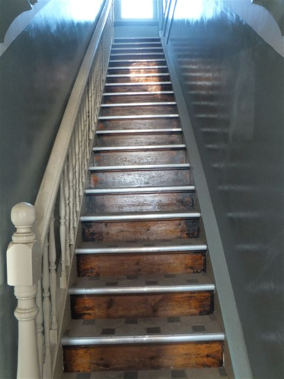 Staircase leading to residence