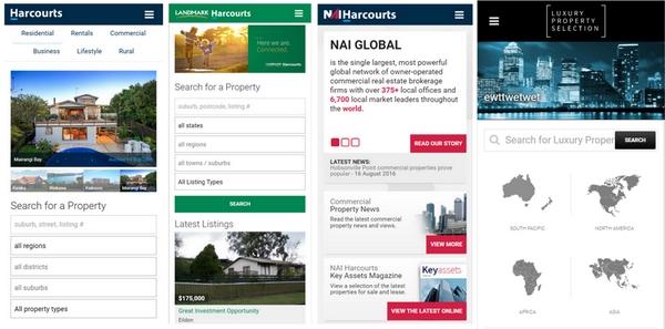 Harcourts Responsive Public Websites