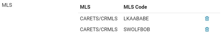 MLS ID Example