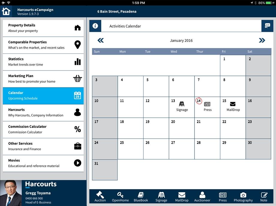 eCampaign Re-Branded Calendar