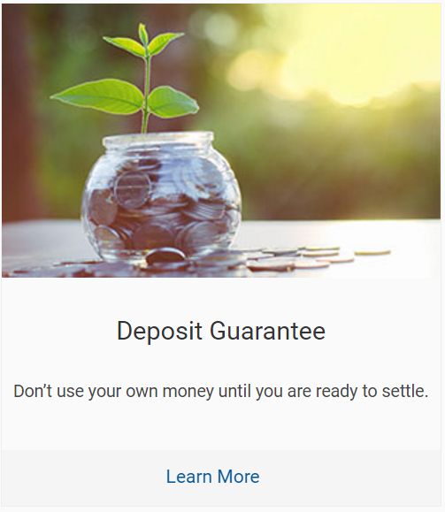 Harcourts Complete - Deposit Guarantee