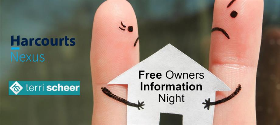 Property Landlords Information Night