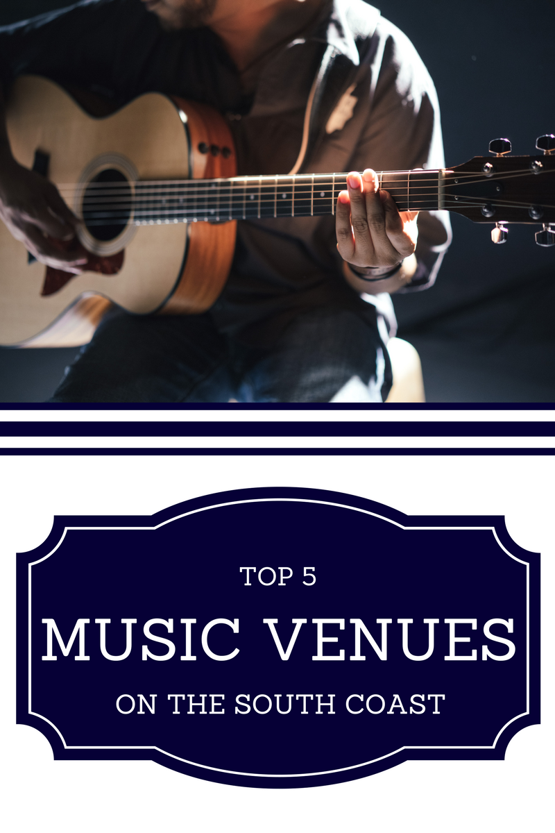 Music venues on the South Coast