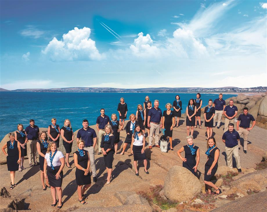 The friendly Harcourts South Coast team offer professional property management and sales.