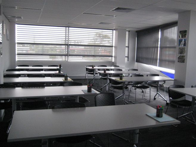 Harcourts Victoria Academy Training Room