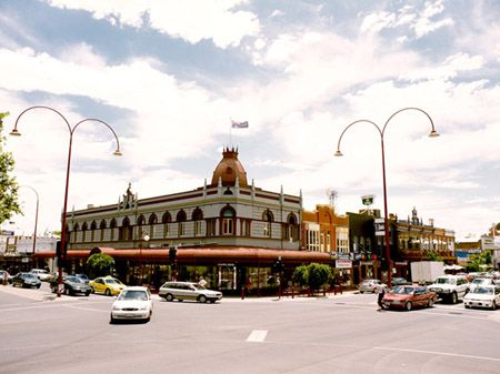 Wangaratta City Centre