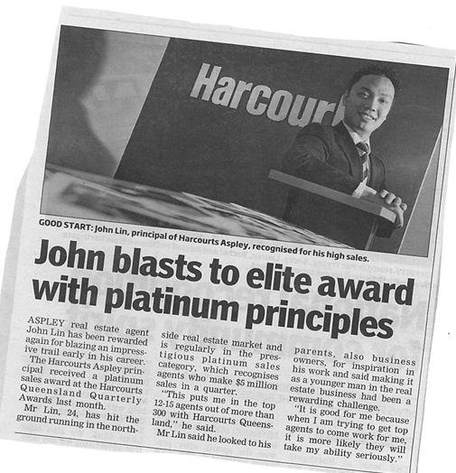 Johnny Lin Harcourts Agency