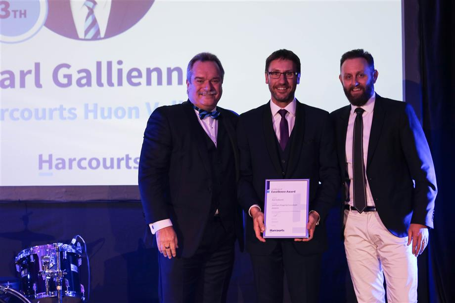 Karl Gallienne - 3rd Place Top 10 Sales Consultants Tasmania 2018/19