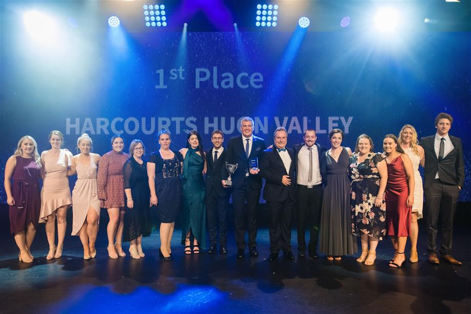 Harcourts Huon Valley Real Estate - Nick Bond 5th Place Top 20 Sales Consultants