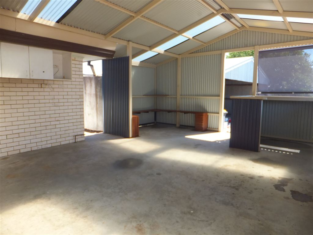 Fully weatherproof patio with provision for spa(back corner), shelving & sun blinds fitted. A great area for family get togethers