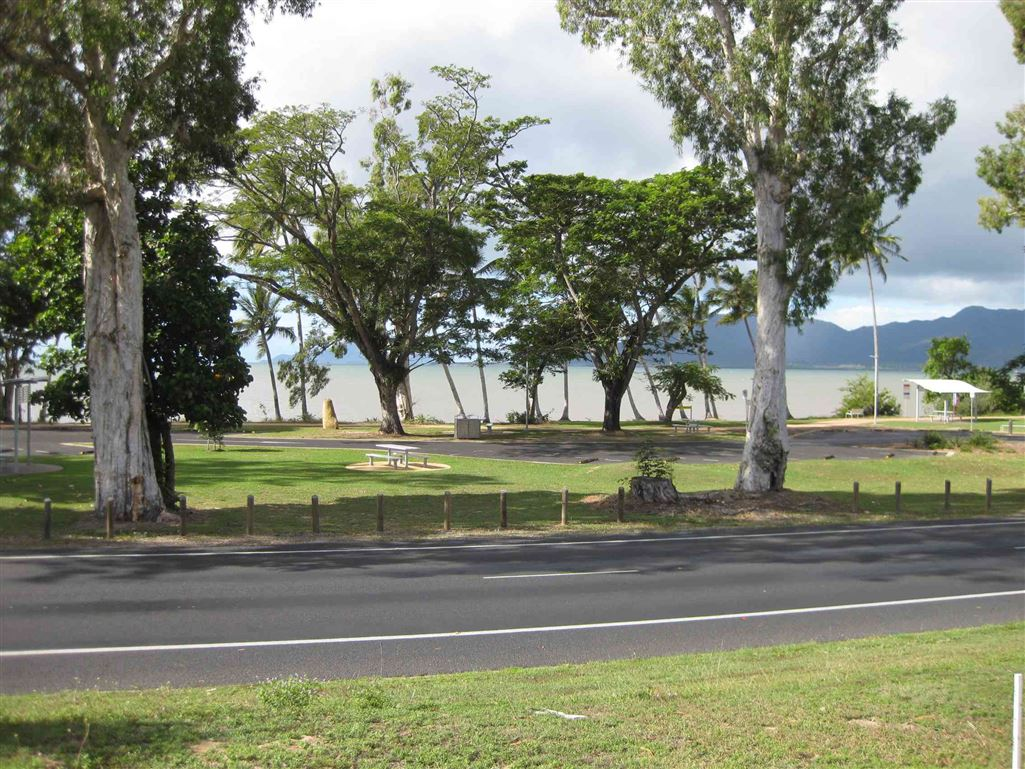 View of Coral Sea & Hinchinbrook Island from front of property