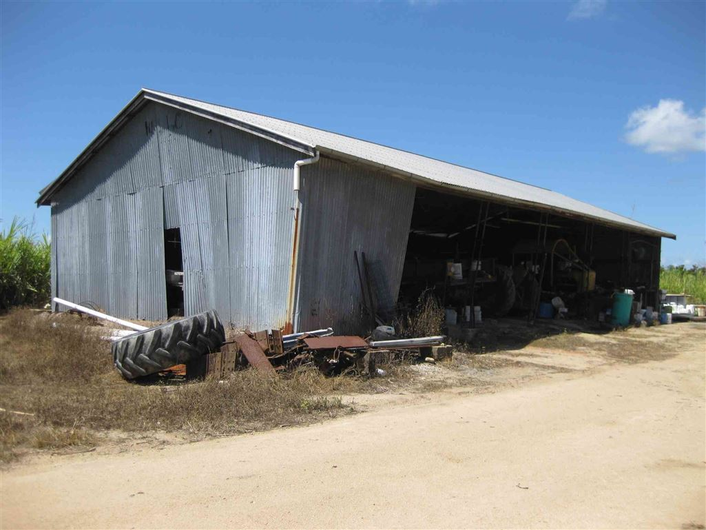 View of part of 5 bay farm shed