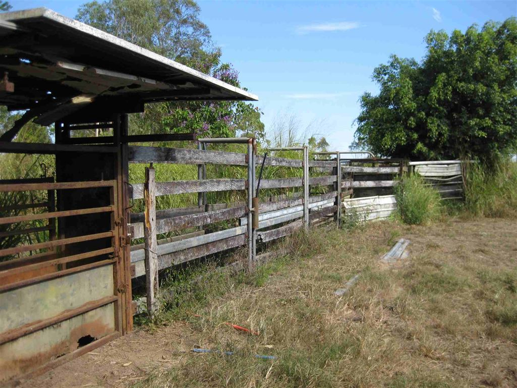 View of part of cattle yards, photo 2