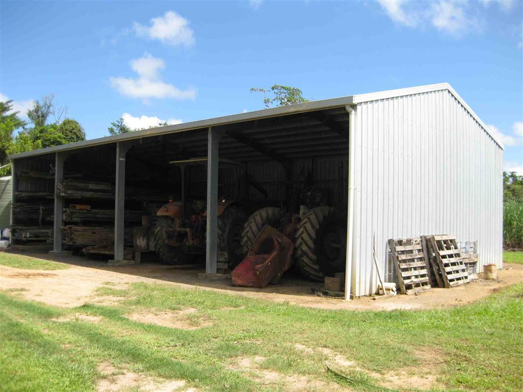 Lot 2, view of part of farm shed