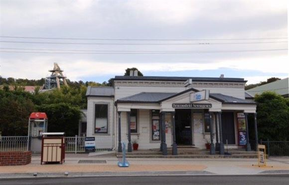 Beaconsfield Newsagency, Freehold with 2 Bedroom House!