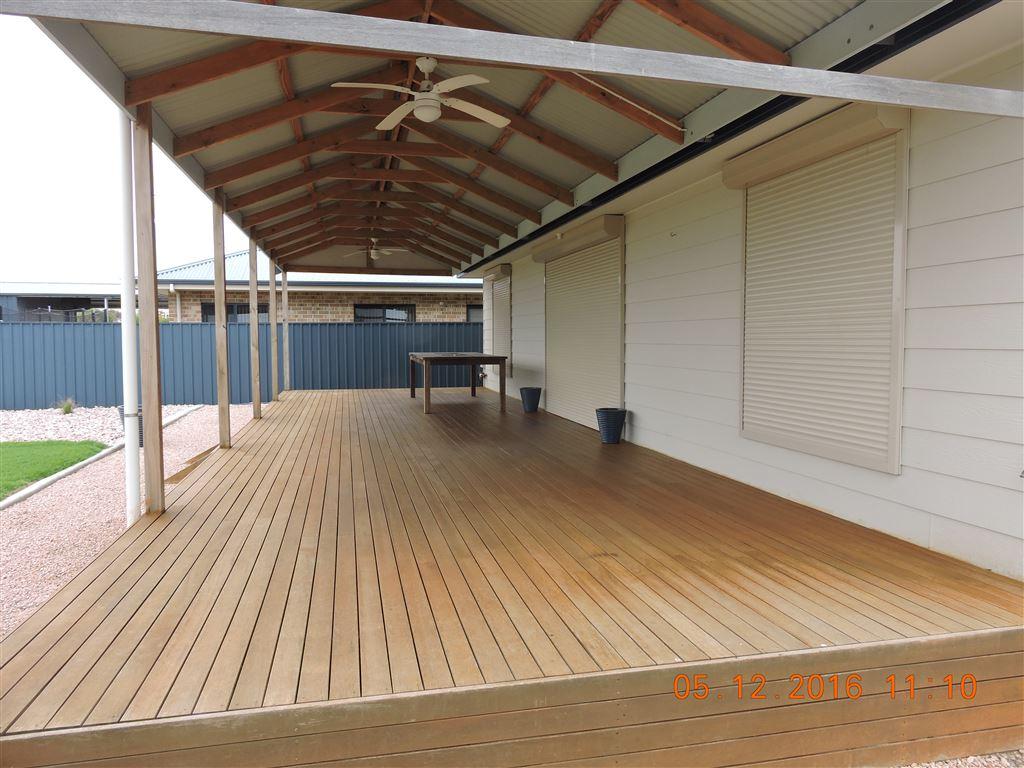 Rear verandah