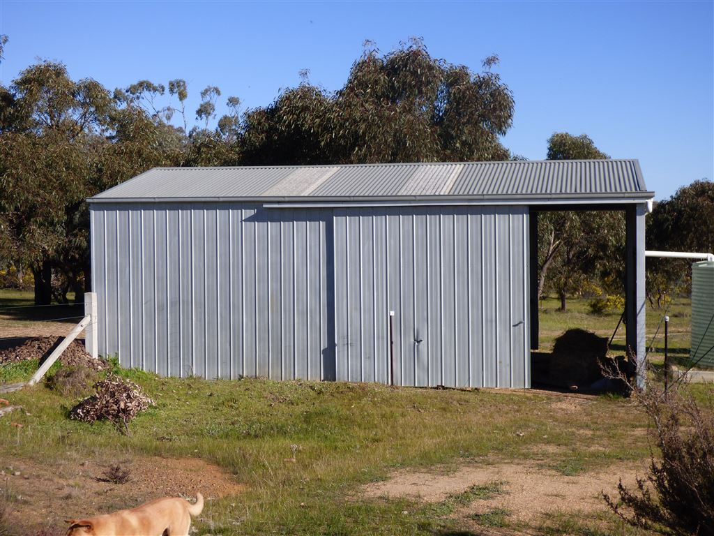 Hay Shed Horse Shelter