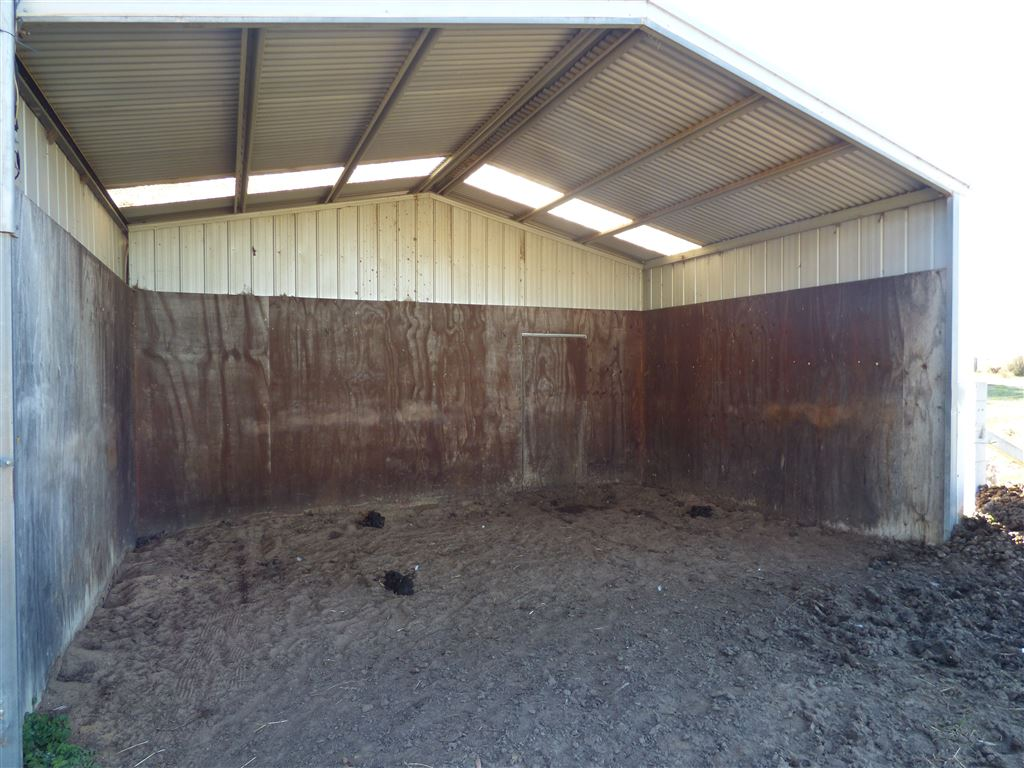 Inside Open Horse/Hay Shed