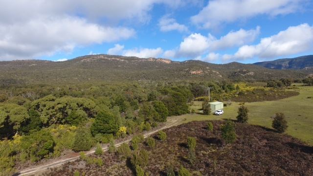 State Forest on West boundary then Grampians Range