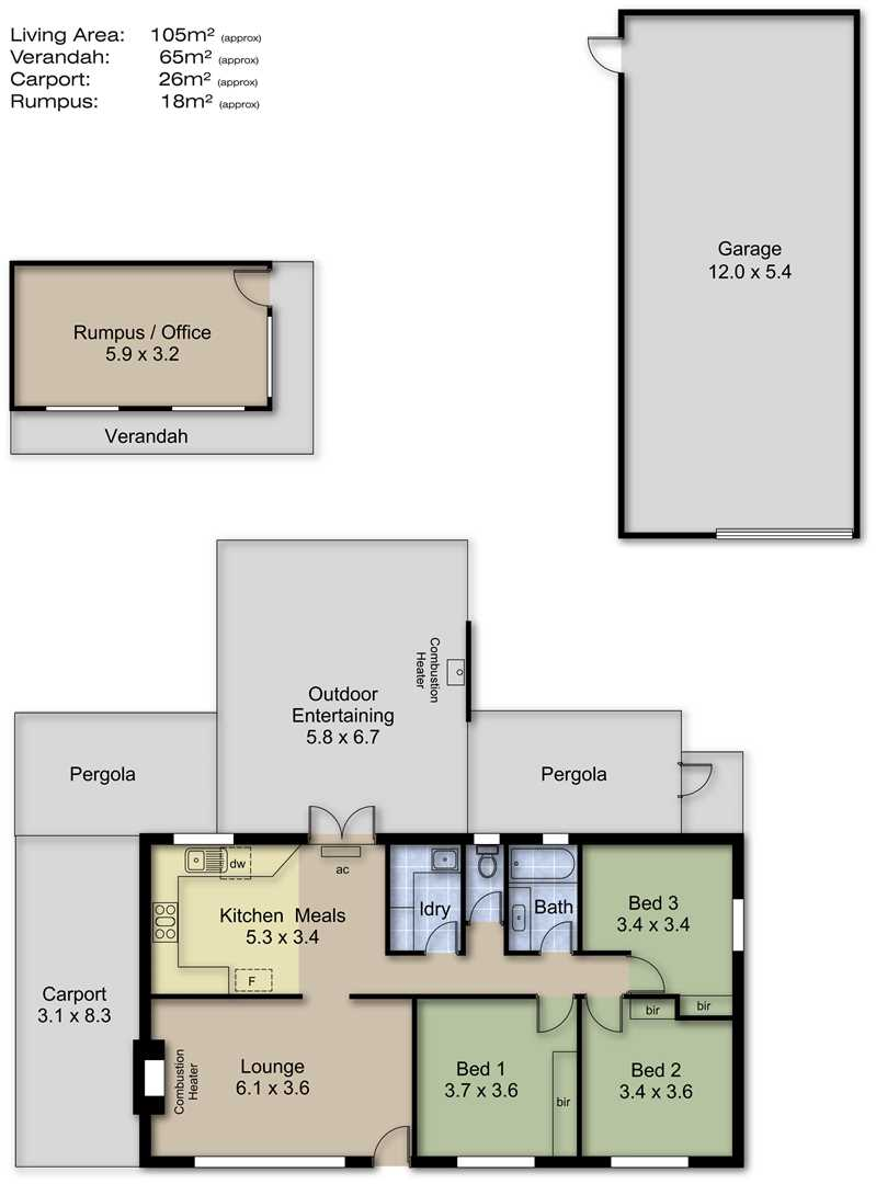 Crafers 45 Lesley Crescent Harcourts Adelaide Hills Rla158908 Longwood Furnace Wiring Diagram Mkii Photos More Details Floor Plans