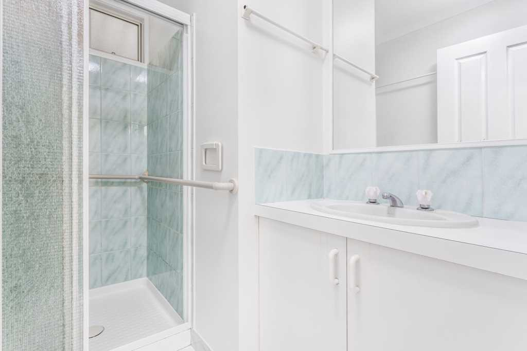 Bathroom with Support Handrails