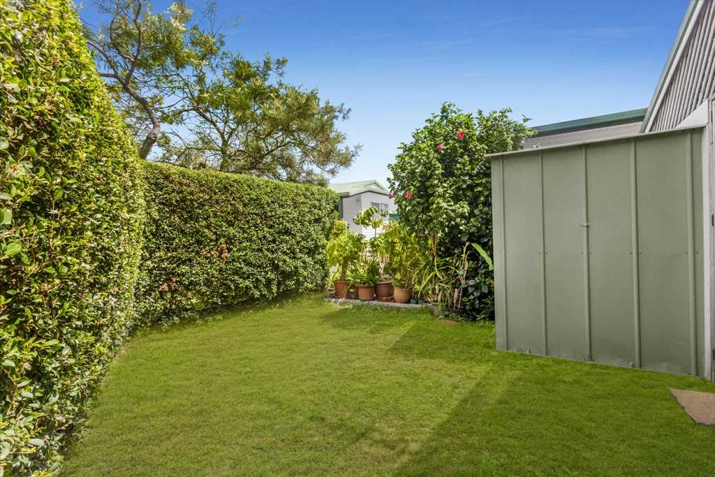 Rear Yard and Garden Shed