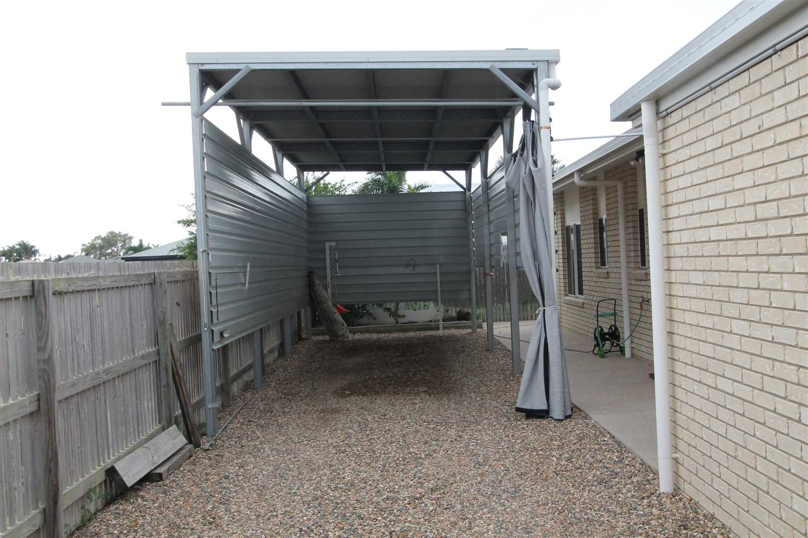 Boat or motorhome shed