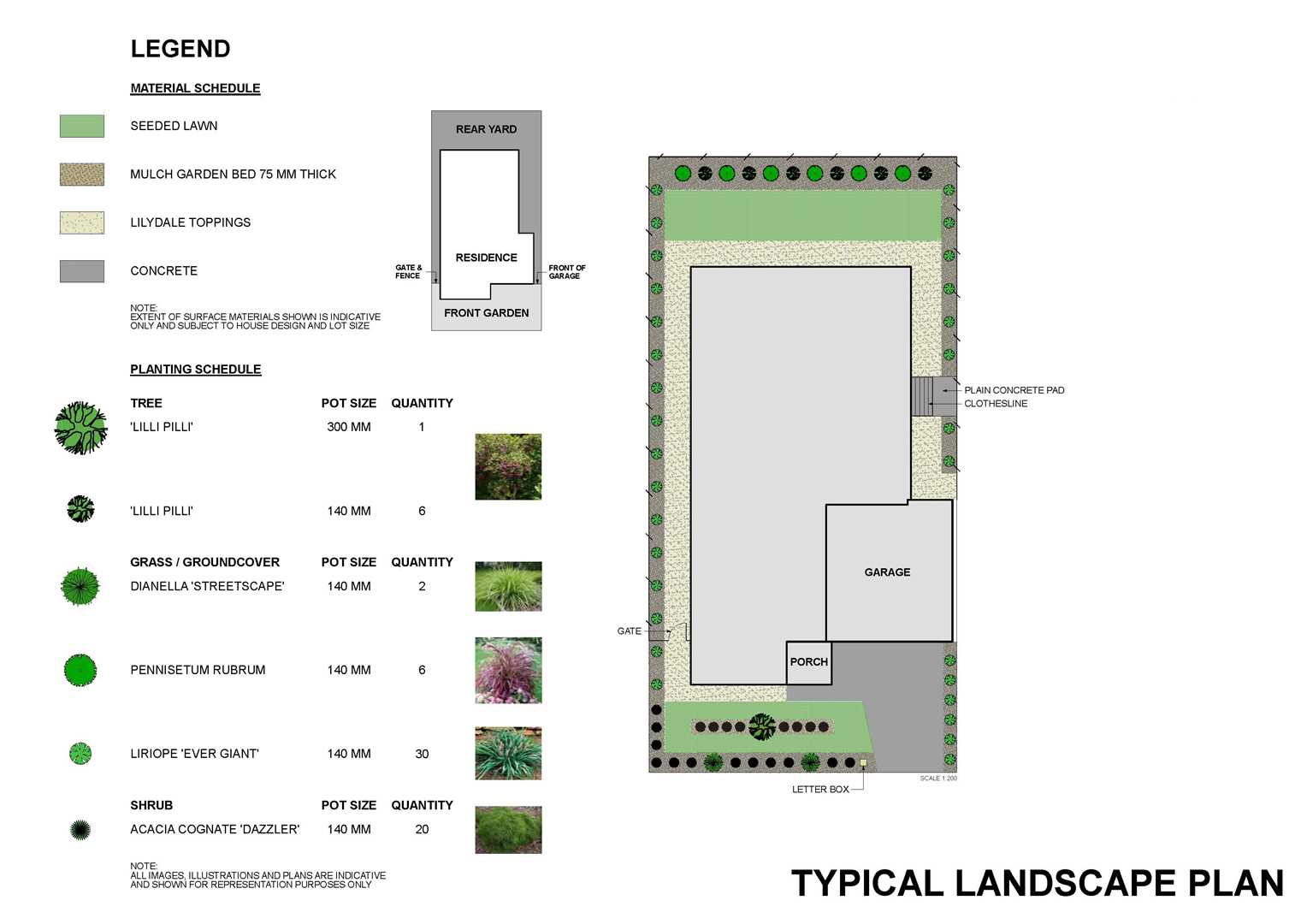 draft for landscaping suggestions