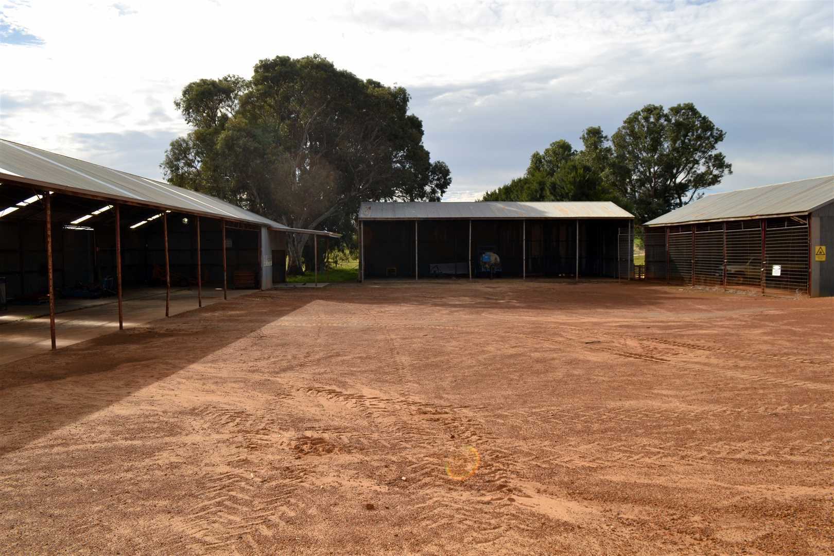 parking and sheds