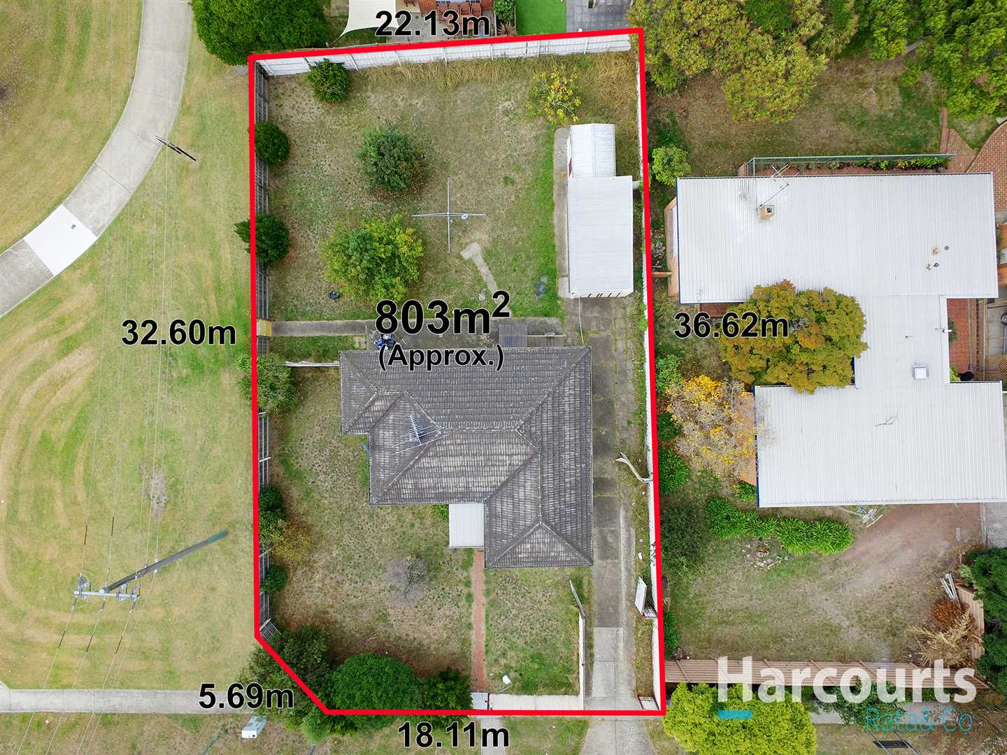 Large Block with Planning Permit for 3 Townhouses