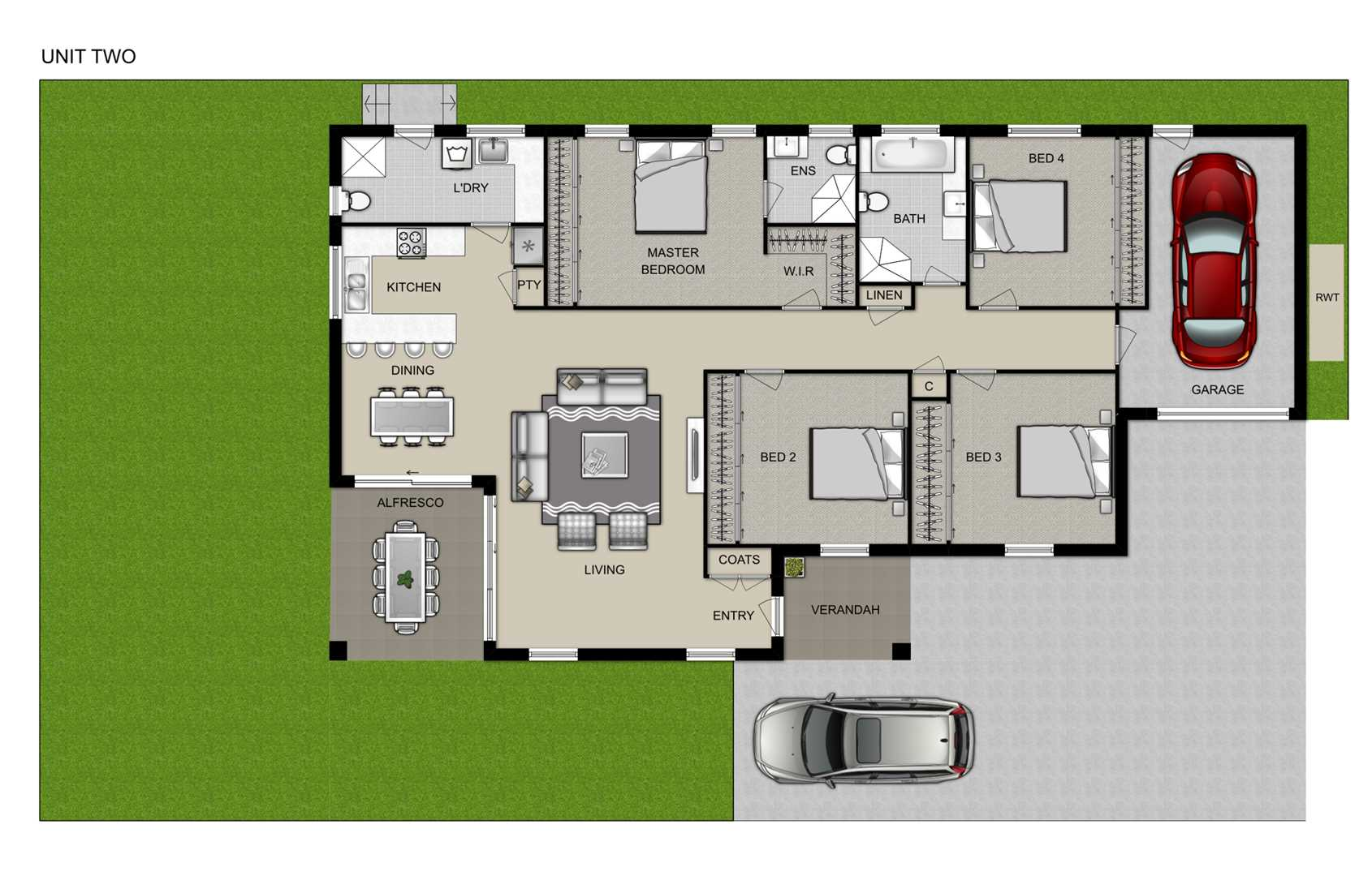 Artist Impression of Floor Plan