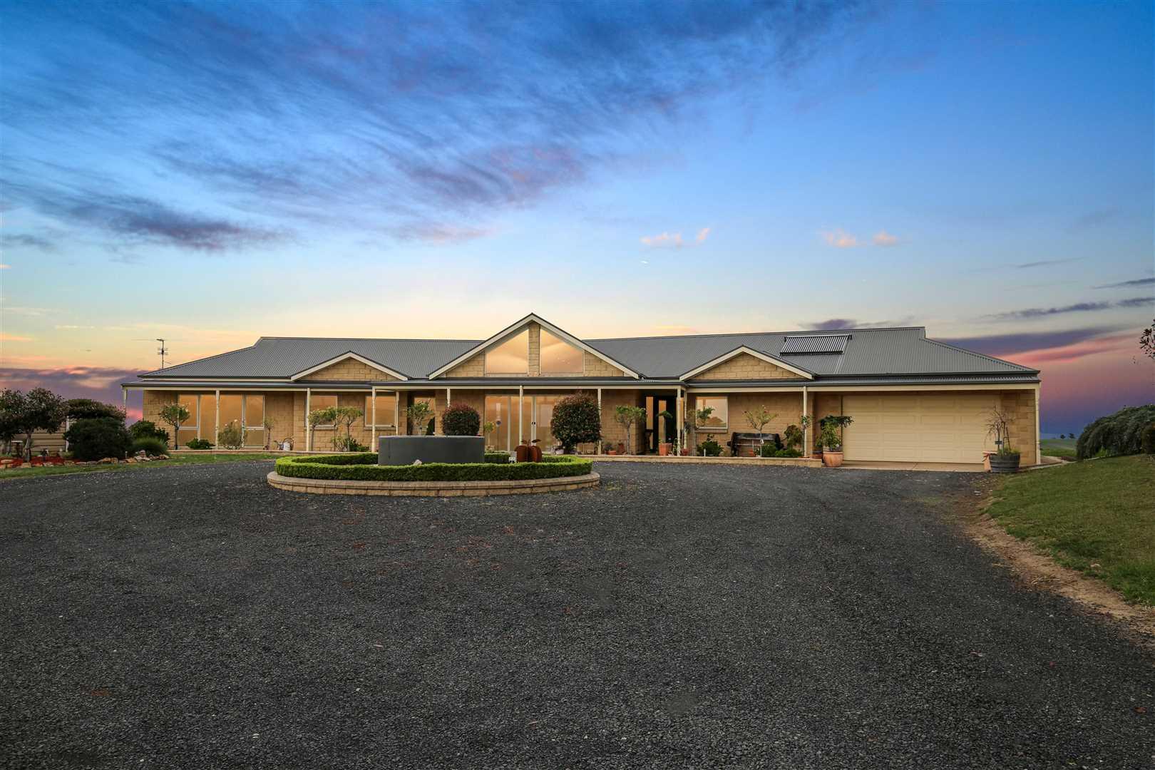 Luxury home on 45 acres