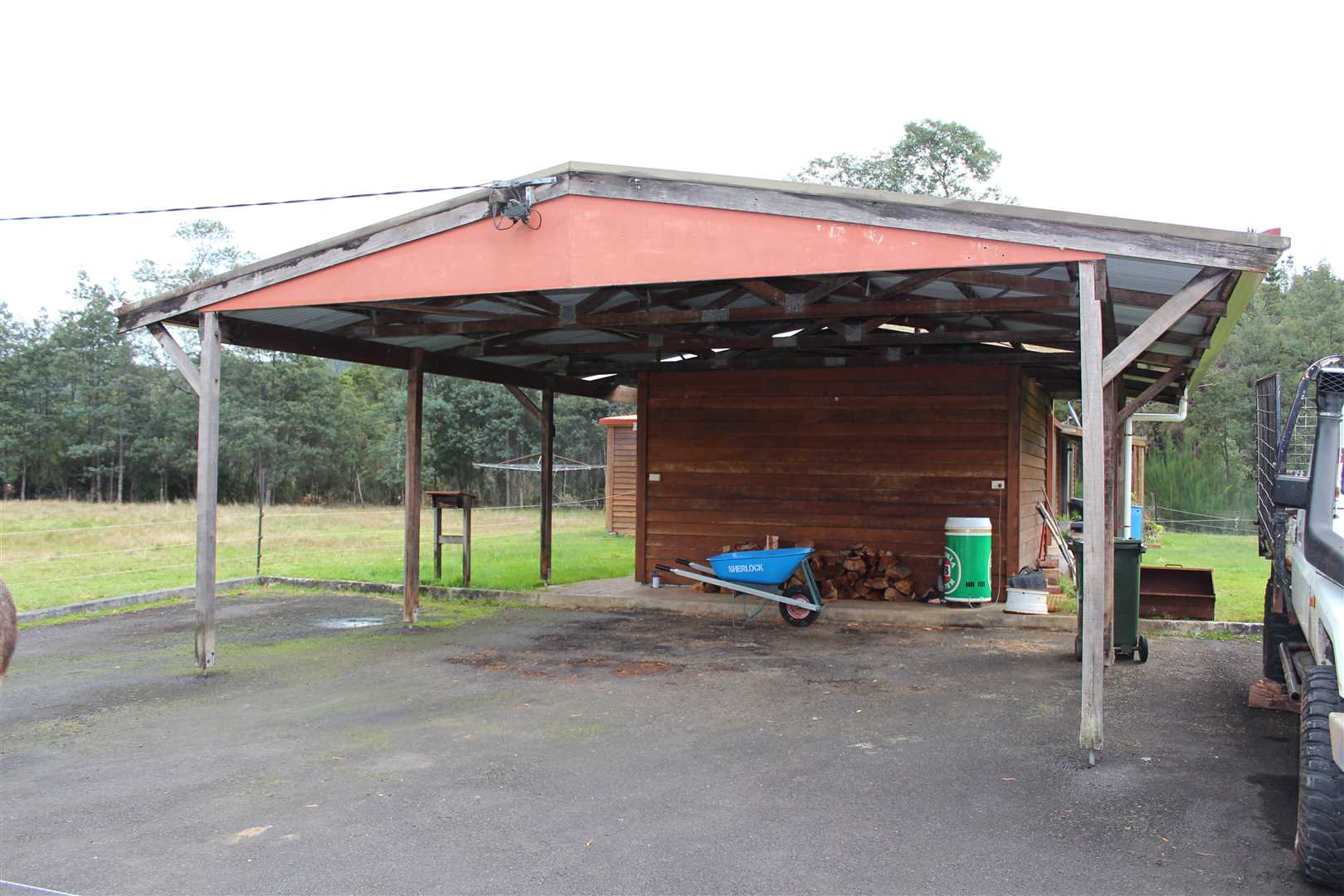 Open Carport/Shed