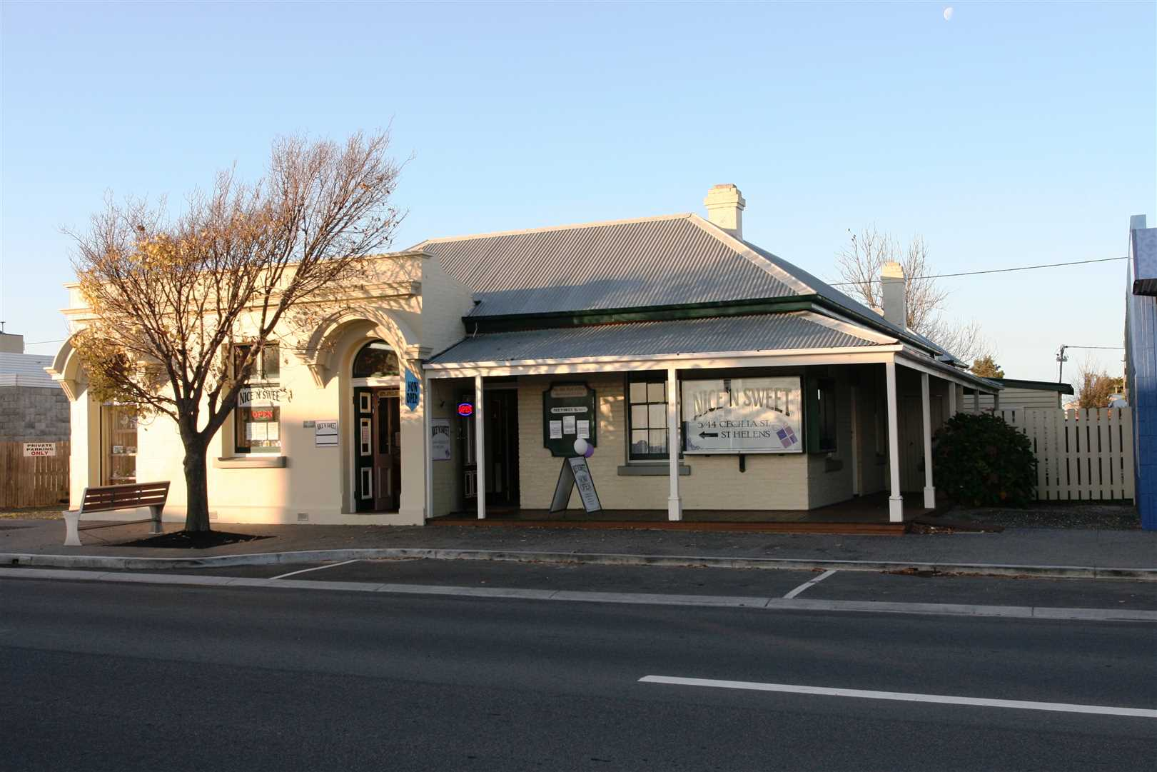 Prime Main Street Commercial Property with Residence